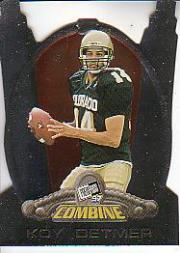 1997 Press Pass Combine #19 Koy Detmer