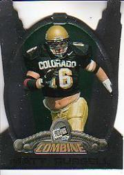 1997 Press Pass Combine #33 Matt Russell