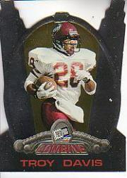 1997 Press Pass Combine #40 Troy Davis
