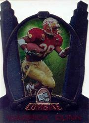 1997 Press Pass Combine #P1 Warrick Dunn Promo
