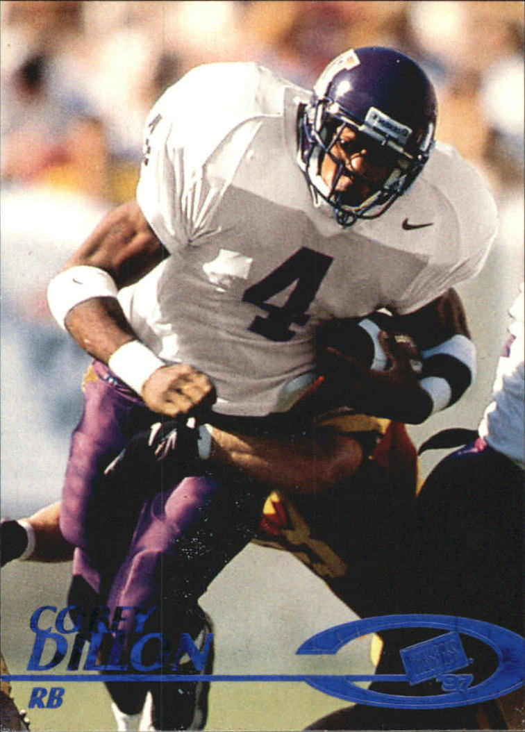 1997 Press Pass Torquers Blue #7 Corey Dillon