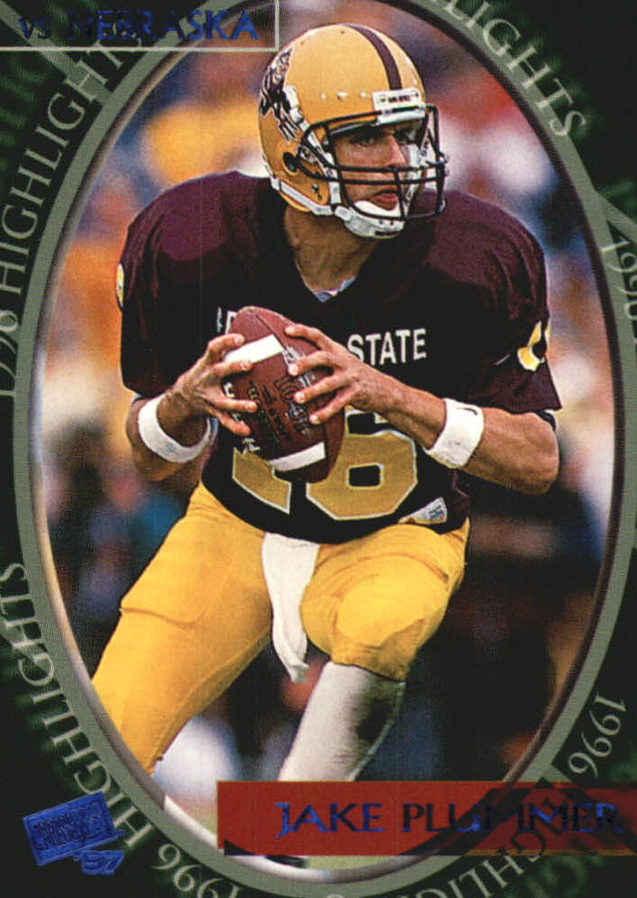 1997 Press Pass Torquers Blue #42 Jake Plummer