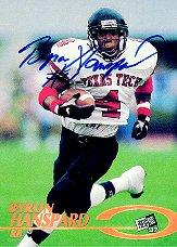 1997 Press Pass Autographs #15 Byron Hanspard