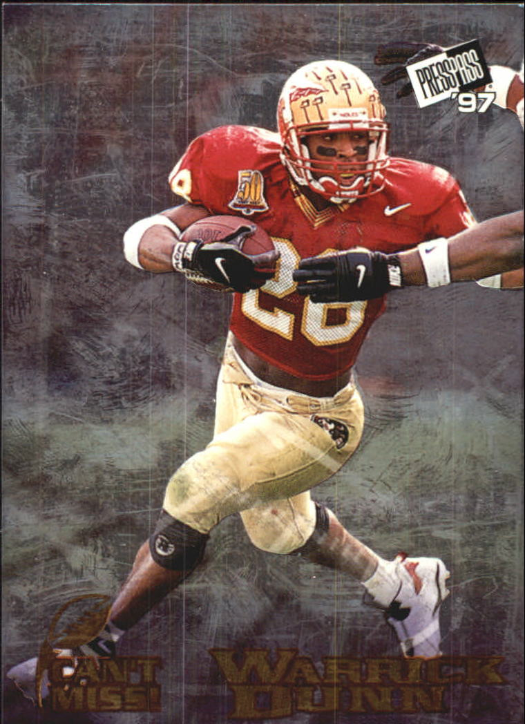 1997 Press Pass Can't Miss #CM1 Warrick Dunn