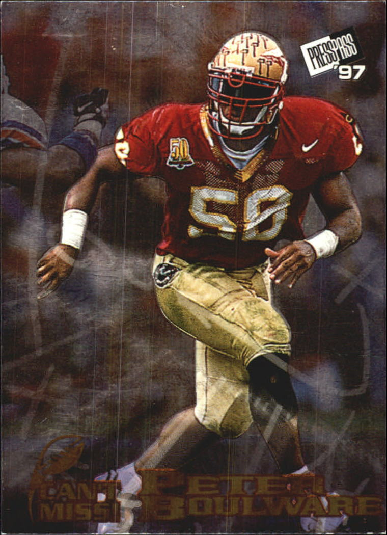 1997 Press Pass Can't Miss #CM6 Peter Boulware