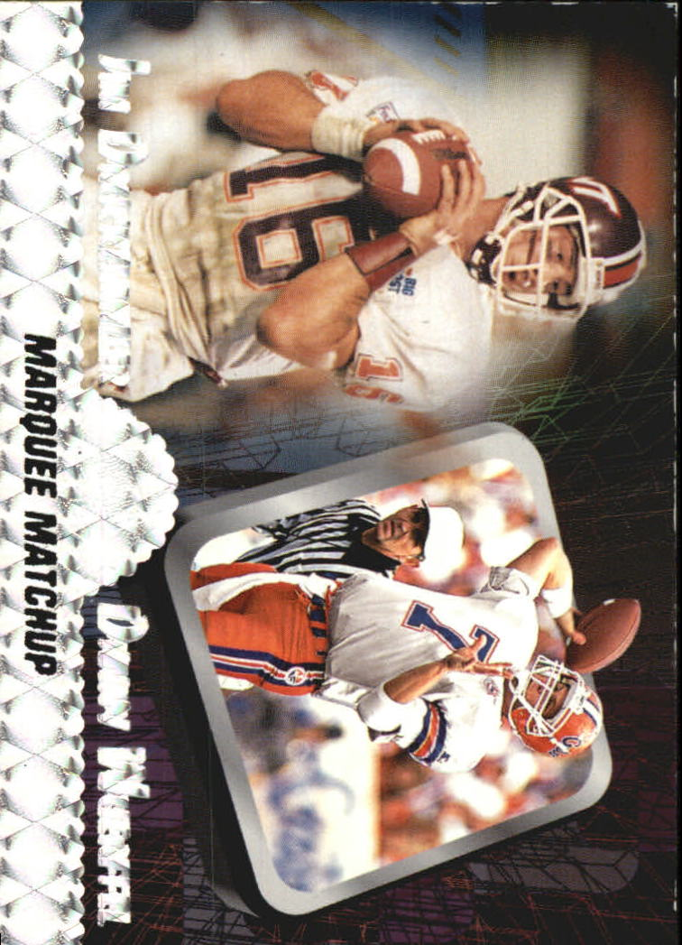 1997 Press Pass Marquee Matchups #MM1 J.Druckenmil/D.Wuerf
