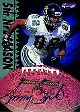 1997 Pro Line Memorabilia Veteran Autographs #6 Jimmy Smith