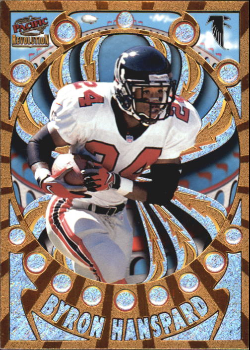1997 Revolution #8 Byron Hanspard RC