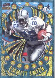 1997 Revolution Platinum Blue #40 Emmitt Smith