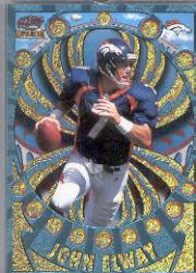 1997 Revolution Platinum Blue #42 John Elway