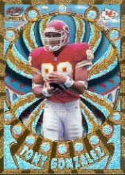 1997 Revolution Platinum Blue #67 Tony Gonzalez