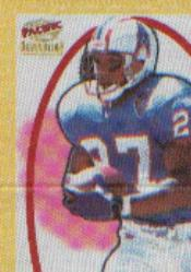 1997 Revolution Silks #18 Eddie George