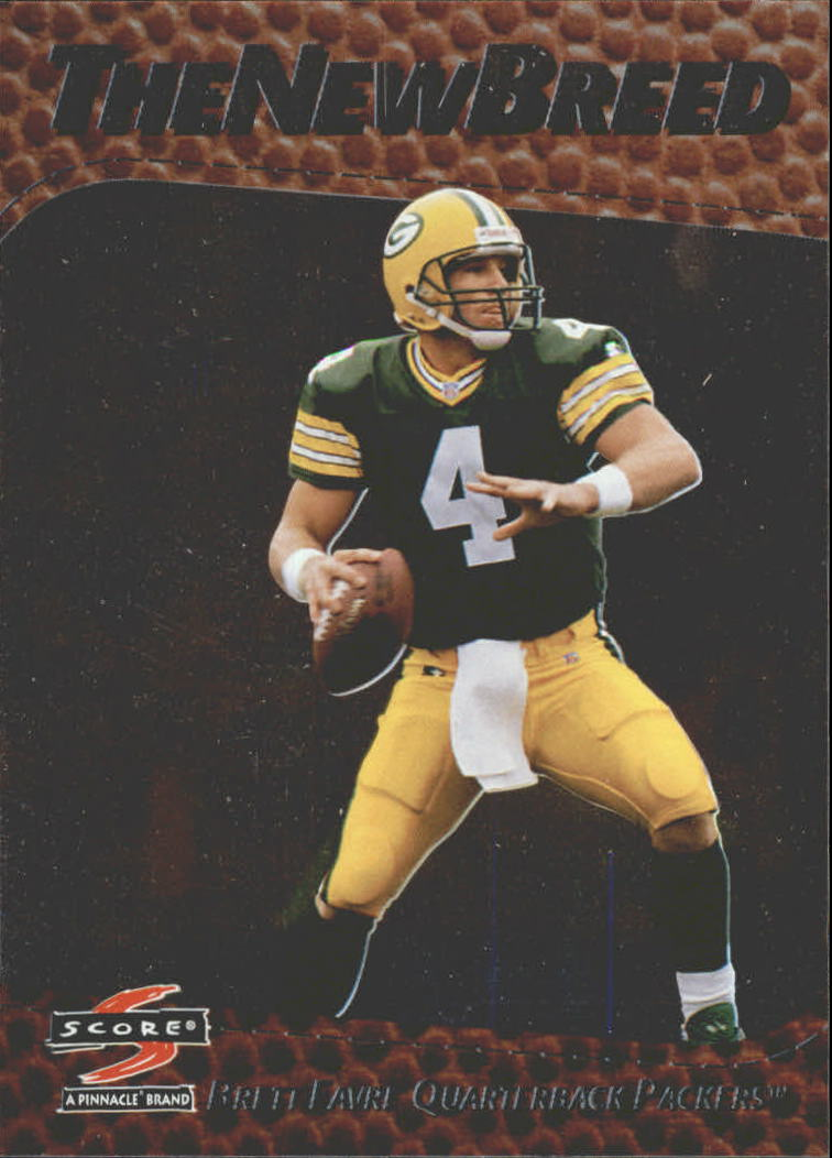 1997 Score New Breed #18 Brett Favre