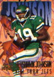 1997 SkyBox Impact #19 Keyshawn Johnson
