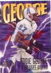1997 SkyBox Impact #27 Eddie George