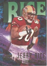 1997 SkyBox Impact #80 Jerry Rice
