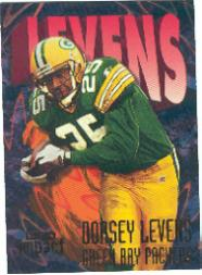 1997 SkyBox Impact #182 Dorsey Levens