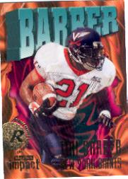 1997 SkyBox Impact #210 Tiki Barber RC