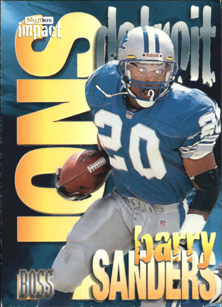 1997 SkyBox Impact Boss #19 Barry Sanders