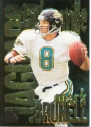 1997 SkyBox Impact Boss Super Boss Foils #4 Mark Brunell