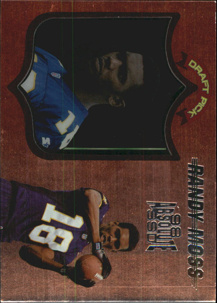 1998 Absolute Hobby #40 Randy Moss RC