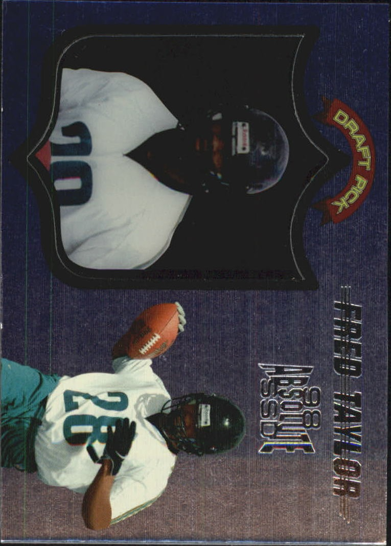 1998 Absolute Hobby #68 Fred Taylor RC