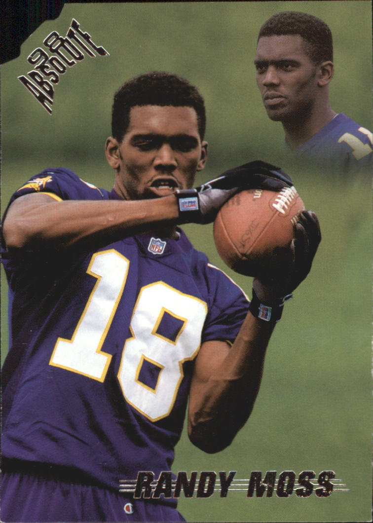 1998 Absolute Retail #40 Randy Moss RC