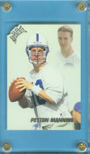 1998 Absolute Retail #165 Peyton Manning RC
