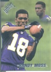 1998 Absolute Retail Green #40 Randy Moss