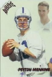 1998 Absolute Retail Red #165 Peyton Manning