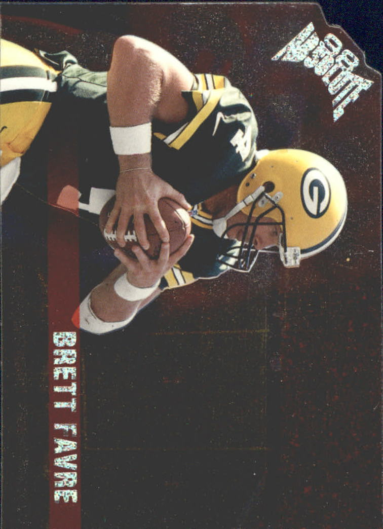 1998 Absolute Checklists Silver Die Cuts #11 Brett Favre
