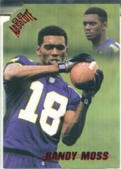 1998 Absolute Draft Picks Bronze #9 Randy Moss