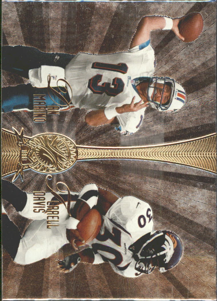 1998 Absolute Platinum Quads #2 Marino/T.Dav/Kauf/Bettis