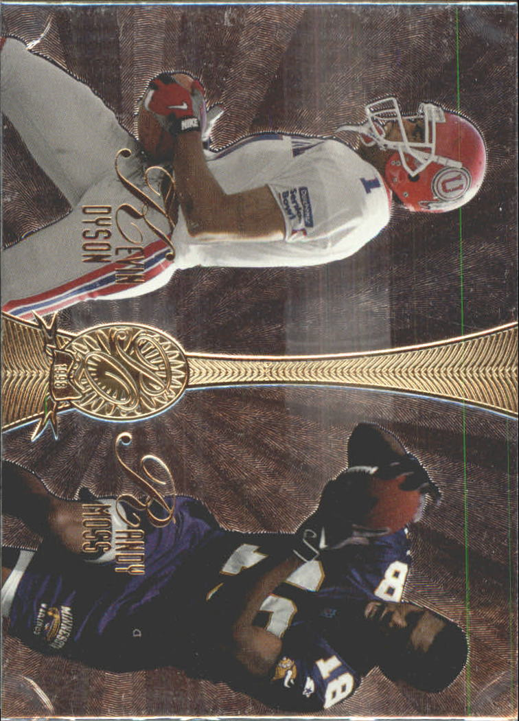 1998 Absolute Platinum Quads #16 Moss/Dyson/Nash/Pathon