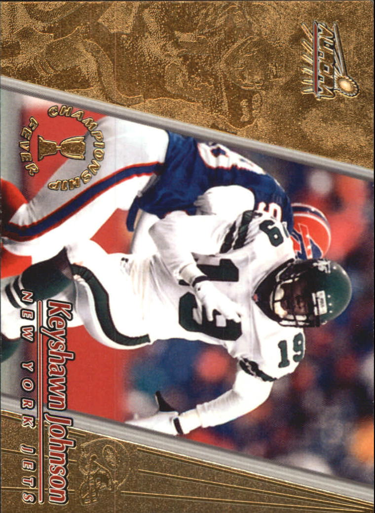 1998 Aurora Championship Fever #35 Keyshawn Johnson
