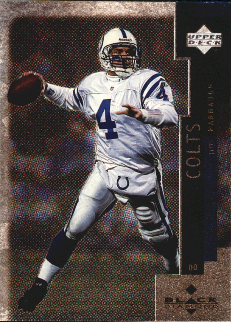 1998 Black Diamond #3 Jim Harbaugh