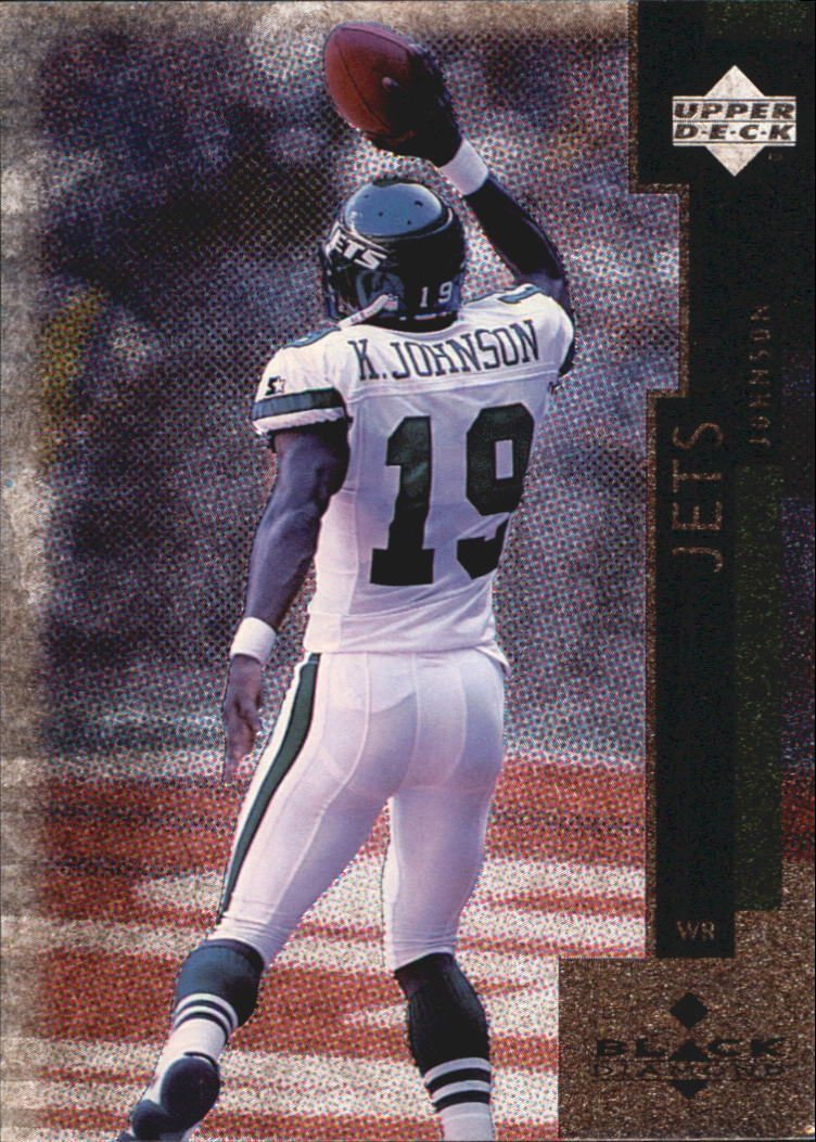 1998 Black Diamond #117 Keyshawn Johnson
