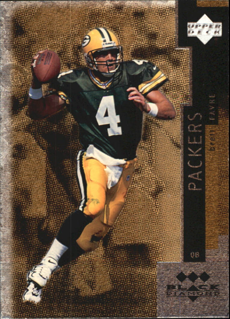 1998 Black Diamond Triple #149 Brett Favre