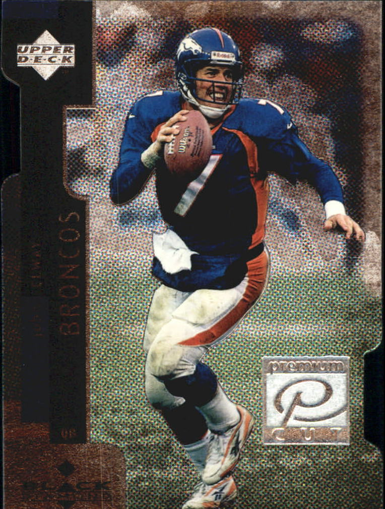 1998 Black Diamond Premium Cut #PC7 John Elway