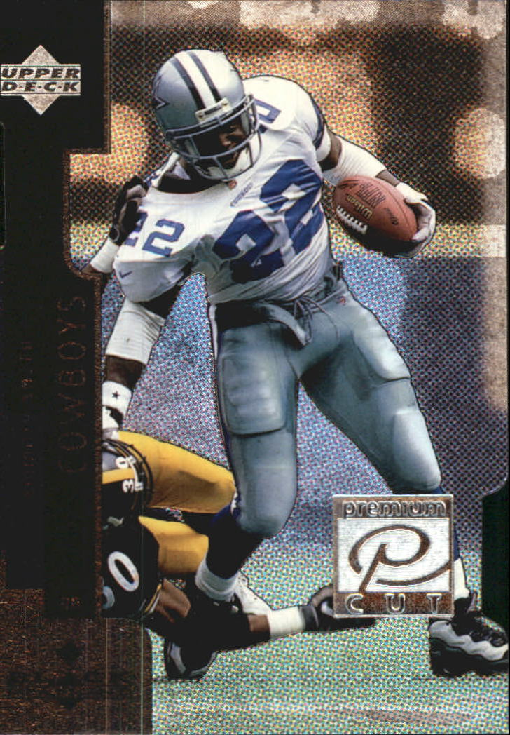1998 Black Diamond Premium Cut #PC22 Emmitt Smith