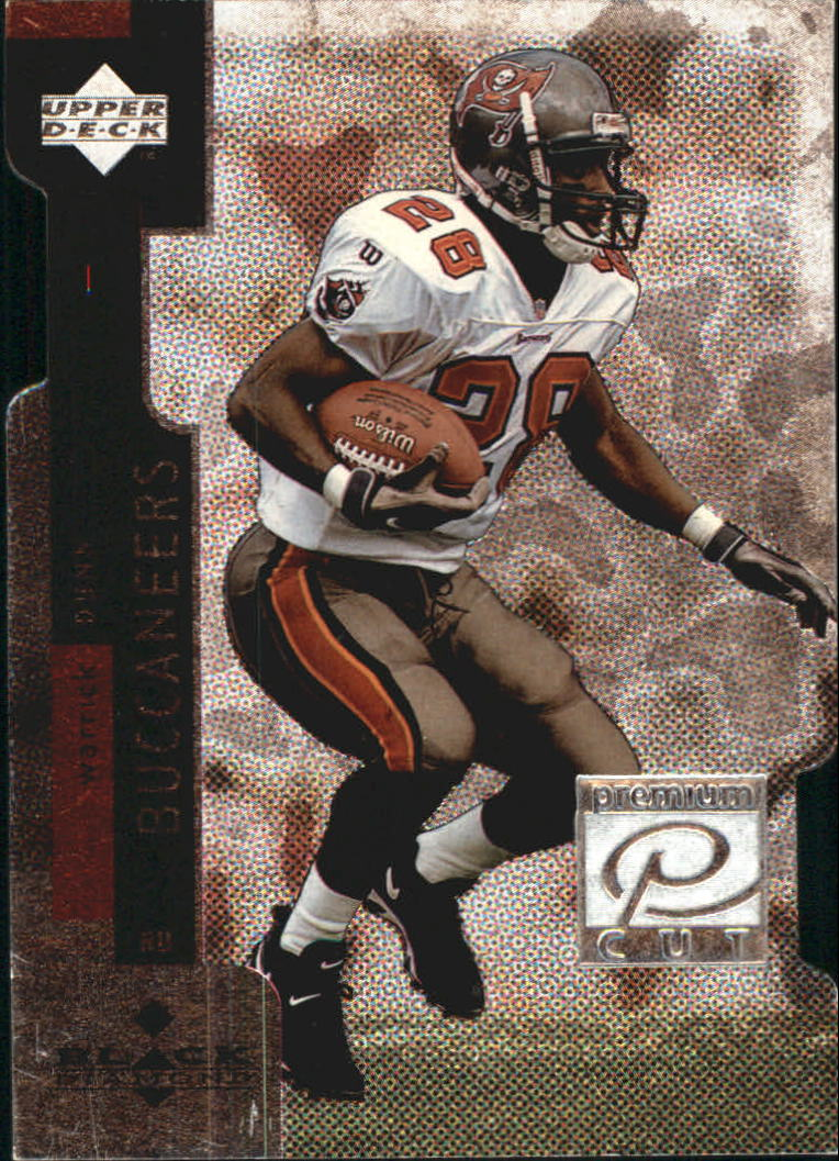 1998 Black Diamond Premium Cut #PC27 Warrick Dunn