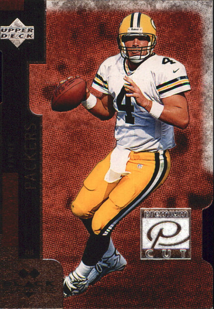 1998 Black Diamond Premium Cut Double #PC24 Brett Favre