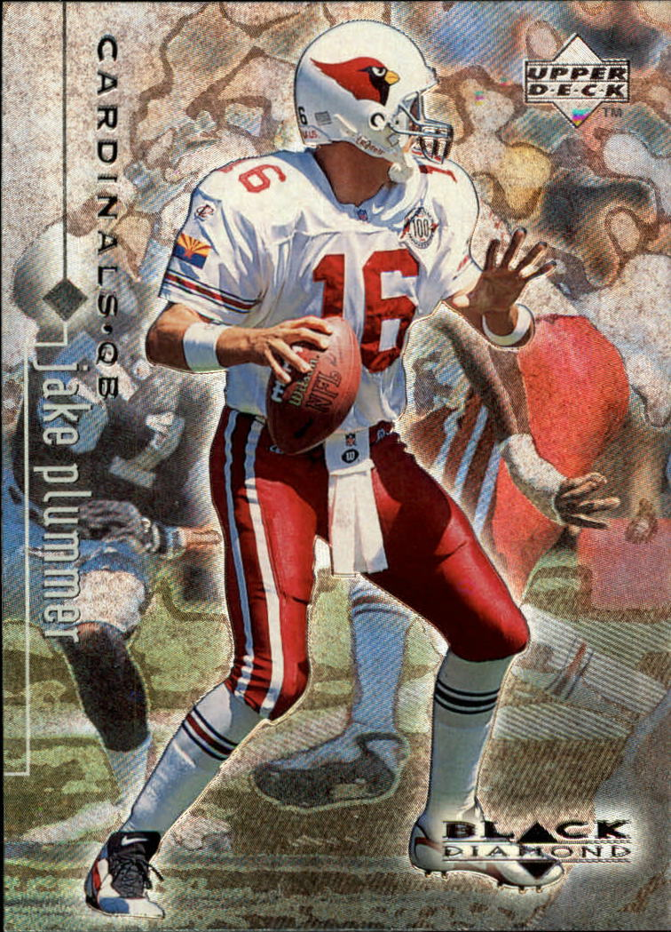 1998 Black Diamond Rookies #1 Jake Plummer