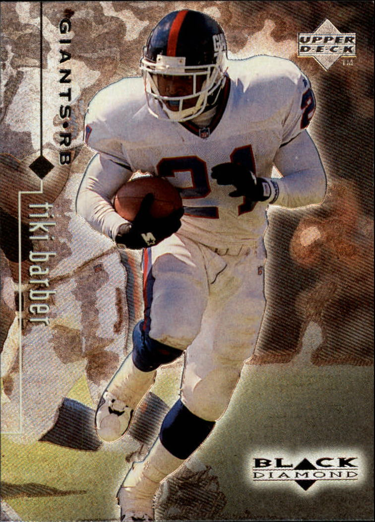 1998 Black Diamond Rookies #56 Tiki Barber