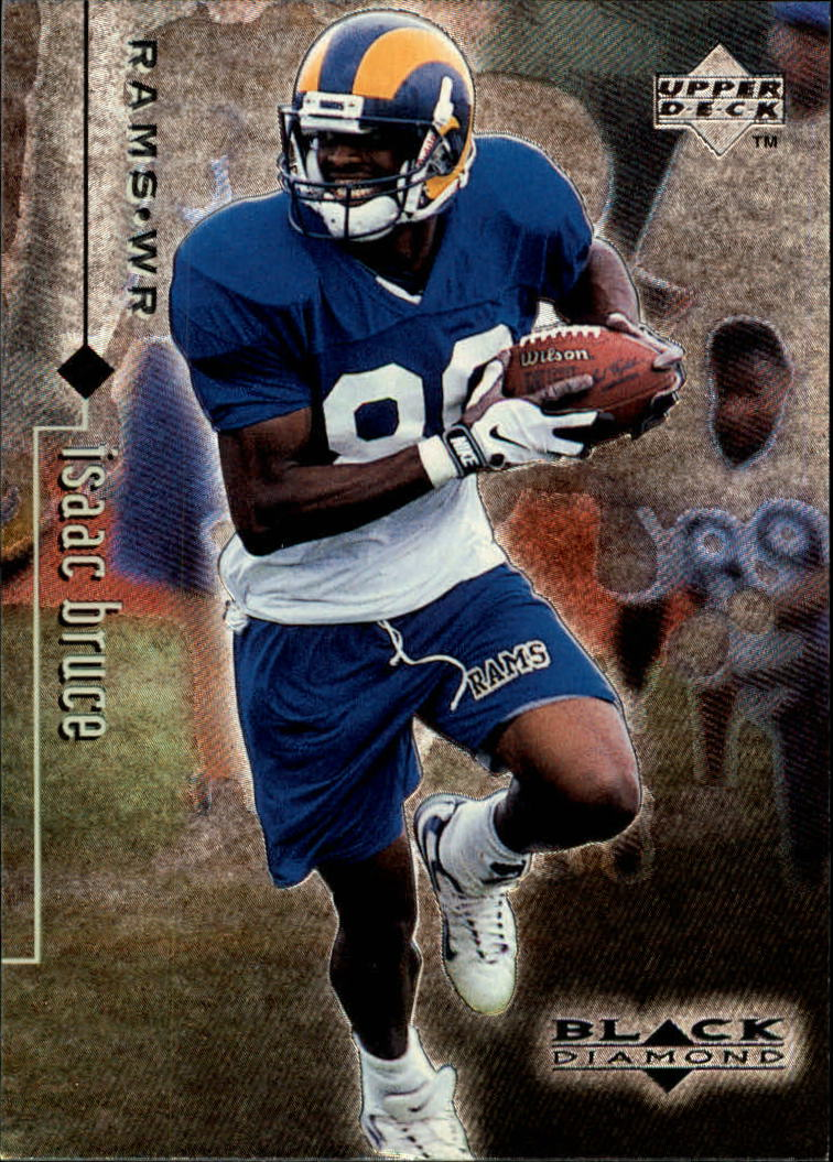 1998 Black Diamond Rookies #71 Isaac Bruce