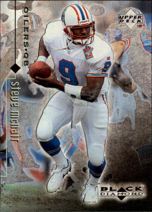 1998 Black Diamond Rookies #85 Steve McNair