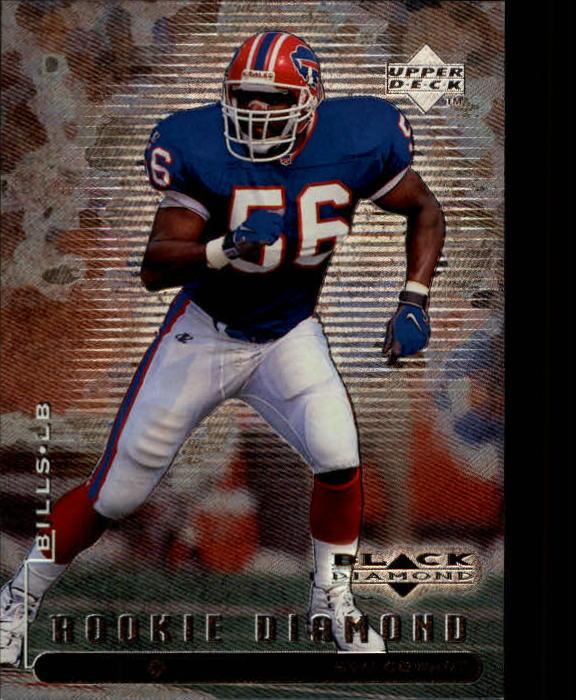 1998 Black Diamond Rookies #107 Sam Cowart RC