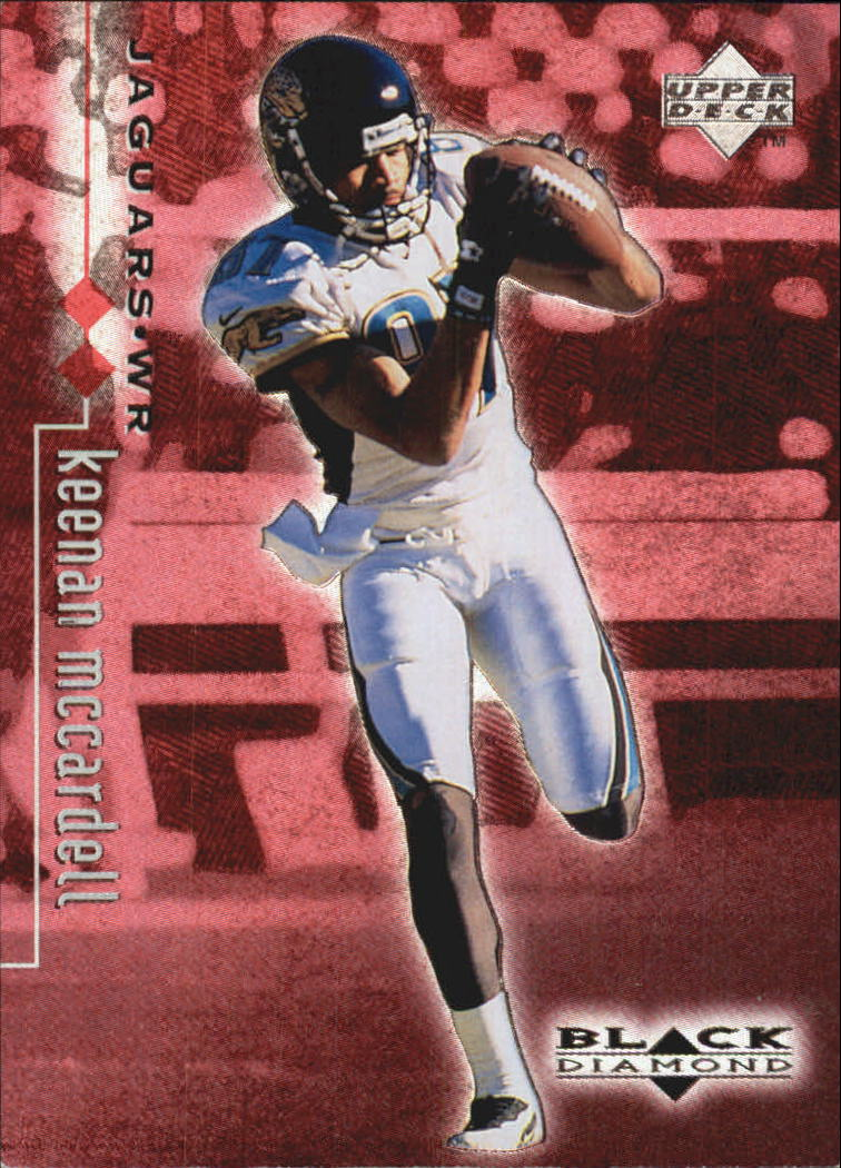 1998 Black Diamond Rookies Double #39 Keenan McCardell
