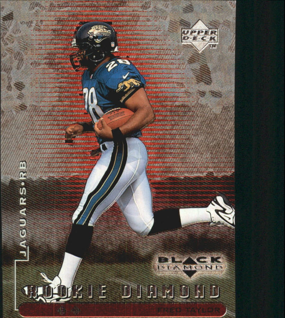 1998 Black Diamond Rookies Double #93 Fred Taylor