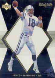 1998 Black Diamond Rookies White Onyx #ON1 Peyton Manning